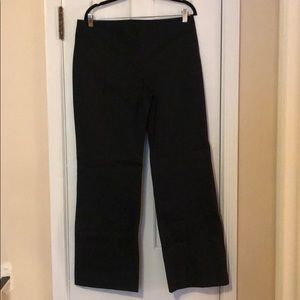 JCrew black trousers Size 12 NEVER worn